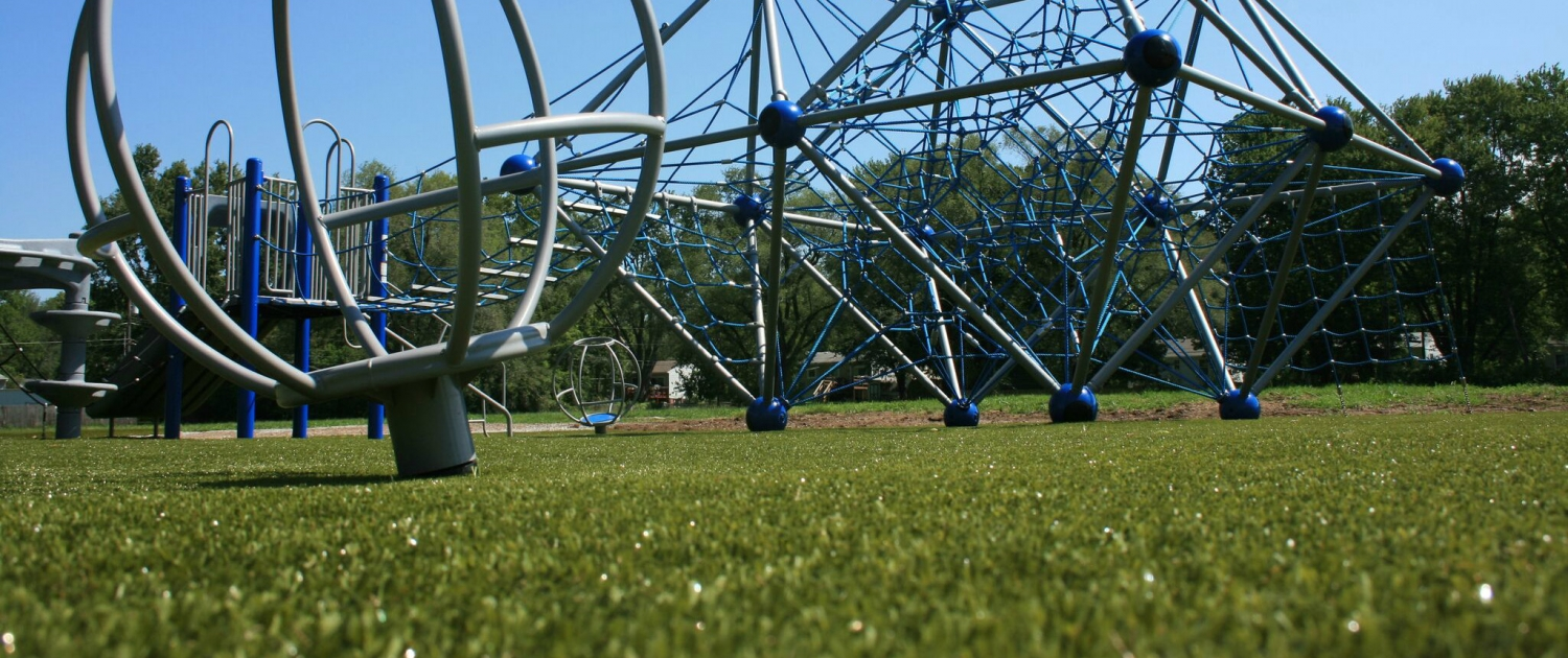 Artificial grass for parks